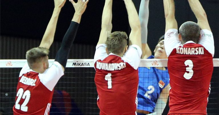 POLAND PULL OFF CONVINCING STRAIGHT-SET WIN AGAINST HOSTS CHINA