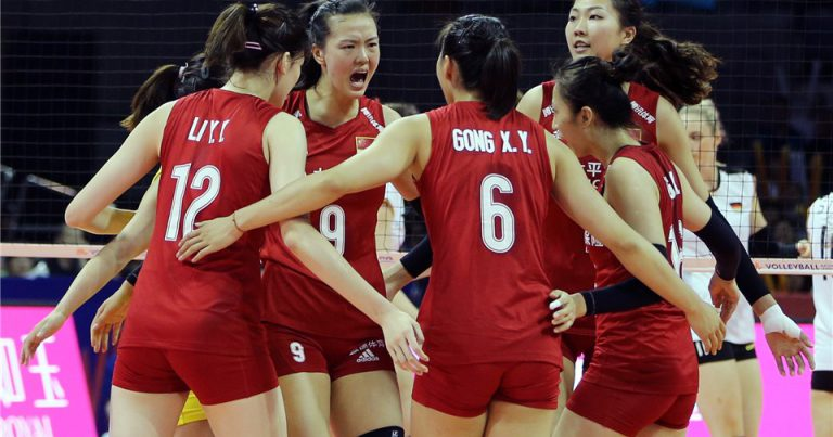 FORMIDABLE CHINA OUTCLASS GERMANY IN STRAIGHT SETS