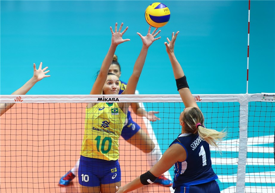 FIVE DOWN, ONE TO GO FOR WOMEN'S VNL FINAL SIX LINEUP