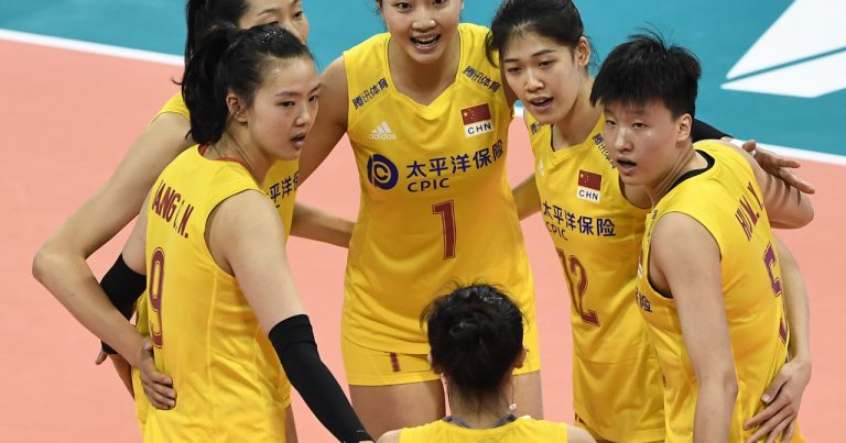 CHINA CLAIM 11TH VNL WIN AFTER 3-0 ROUT OF BULGARIA