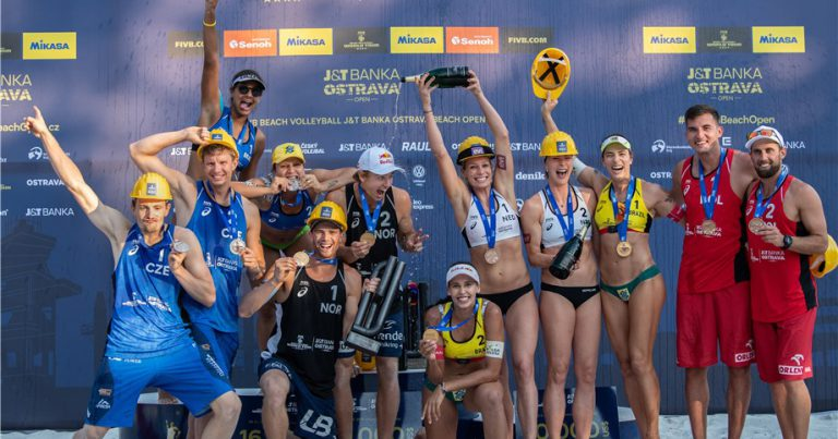 REBECCA/ANA PATRICIA & MOL/SORUM TABBED AS FIVB BEACH VOLLEYBALL WORLD CHAMPIONSHIPS FAVOURITES