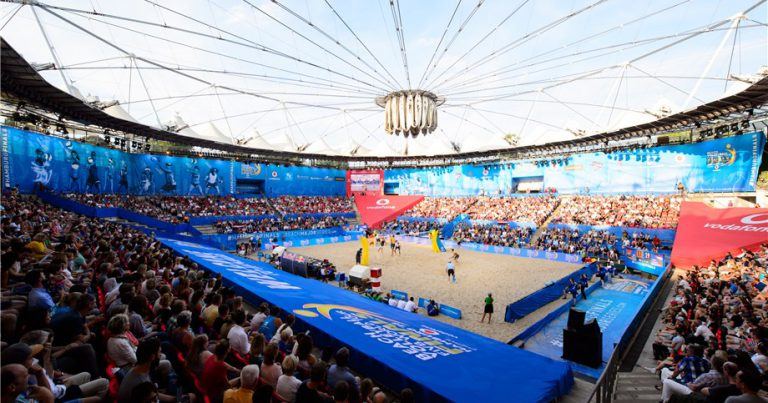 FIRST SERVE FRIDAY FOR 2019 BEACH VOLLEYBALL WORLD CHAMPIONSHIPS IN HAMBURG