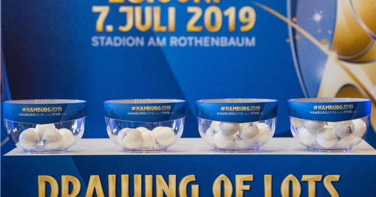 2019 FIVB WORLD CHAMPIONSHIPS POOL PLACEMENTS CONFIRMED
