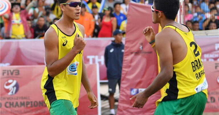 RENATO/RAFAEL EXTEND BRAZIL'S REIGN IN MEN'S U21 WORLD CHAMPIONSHIP