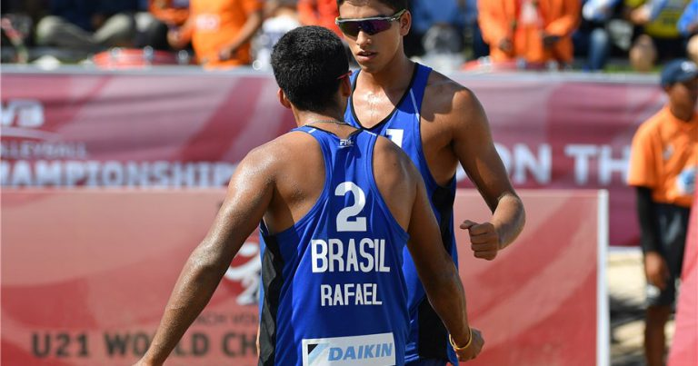 RENATO/RAFAEL AND WINDISCH/DI SILVESTRE TO PLAY FOR GOLD AT U21 WORLD CHAMPIONSHIPS