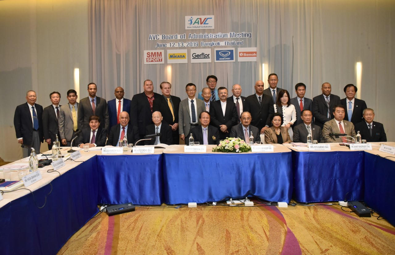 41ST AVC BOARD OF ADMINISTRATION MEETING IN BANGKOK DECIDE ON KEY STEPS