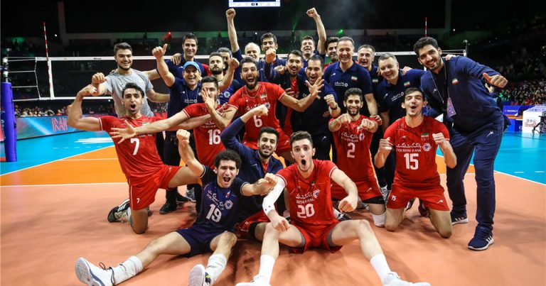 DEVASTATING IRAN STUN ASIAN CHAMPIONS JAPAN IN STRAIGHT SETS