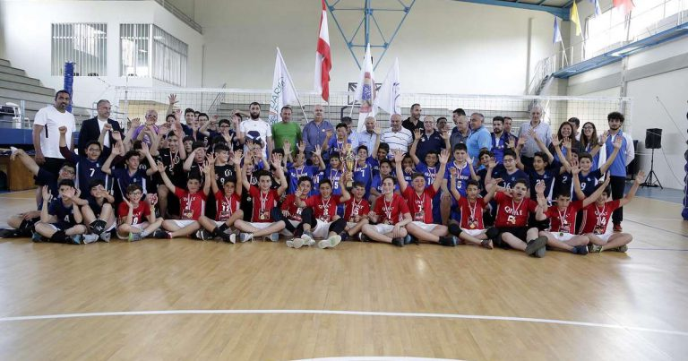 YOUTH VOLLEYBALL FESTIVAL A SUCCESS IN LEBANON