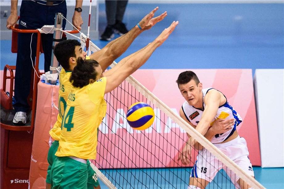ITALY AND BRAZIL HEAD SEMIFINAL SHOWDOWNS IN MEN'S U21 WORLD CHAMPIONSHIP