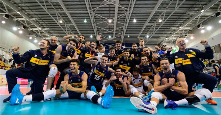 ITALY AND IRAN ADVANCE TO MEN'S U21 WORLD CHAMPIONSHIP TITLE MATCH