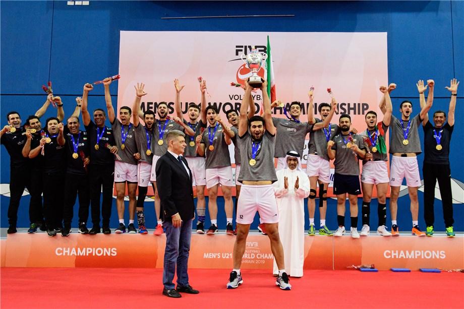 YALI, ESFANDIAR LEAD IRAN TO HISTORIC TITLE IN MEN'S U21 WORLD CHAMPIONSHIP