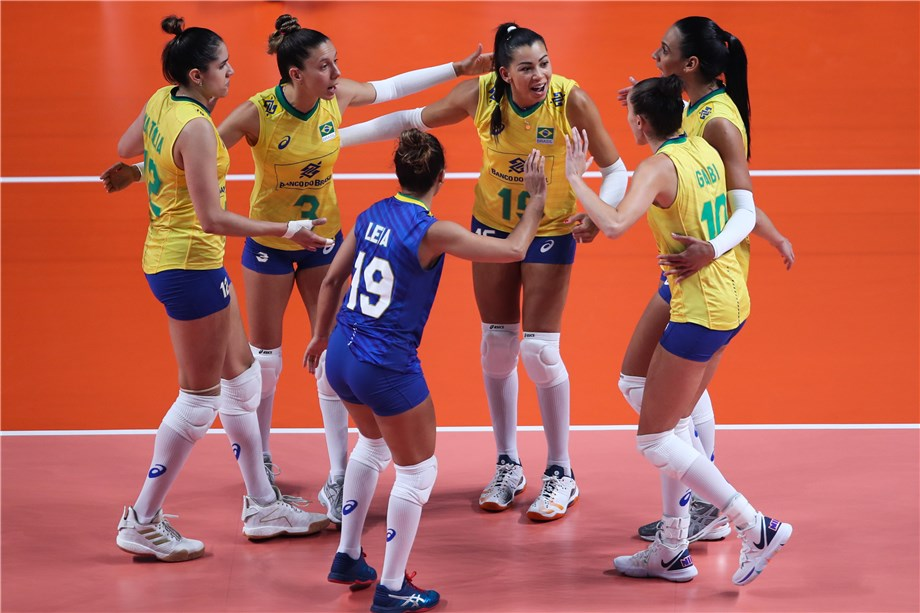 BRAZIL REACH 2019 VNL SEMIFINALS WITH 3-2 DEFEAT OF POLAND