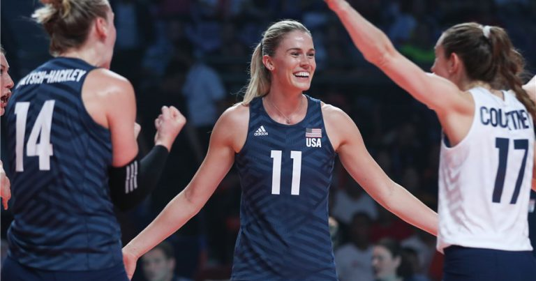 USA RALLY PAST CHINA TO REACH 2019 VNL TITLE MATCH