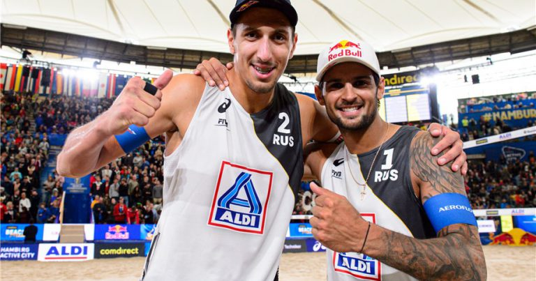 YOUTH REIGNS AT THE FIVB WORLD CHAMPIONSHIPS AS GERMANY CHALLENGES RUSSIA FOR THE MEN'S GOLD MEDAL