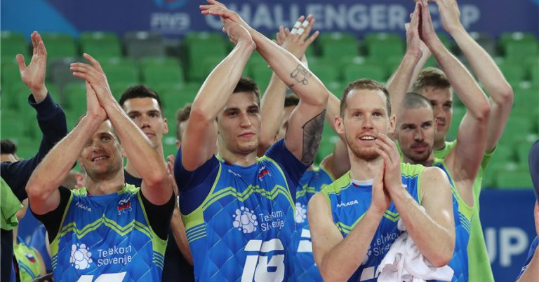 SLOVENIA TAKE ON CUBA IN THE RACE FOR A SPOT IN THE 2020 VNL