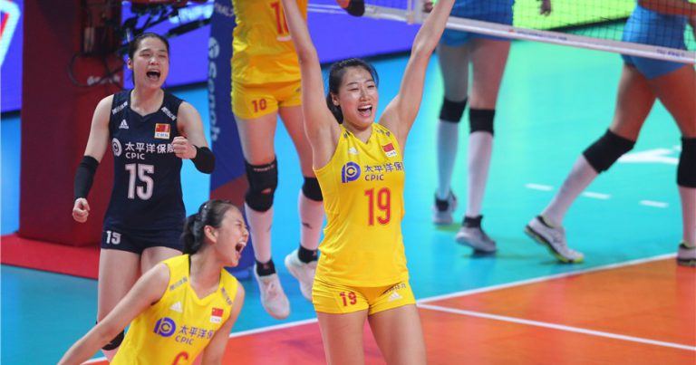 LIU YANHAN AND GONG XIANGYU STEER CHINA'S 3-1 WIN TO CLAIM SECOND VNL BRONZE