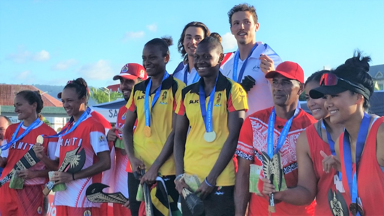 AUSTRALIA AND VANUATU SHARE PACIFIC GAMES BEACH VOLLEYBALL GOLD MEDAL