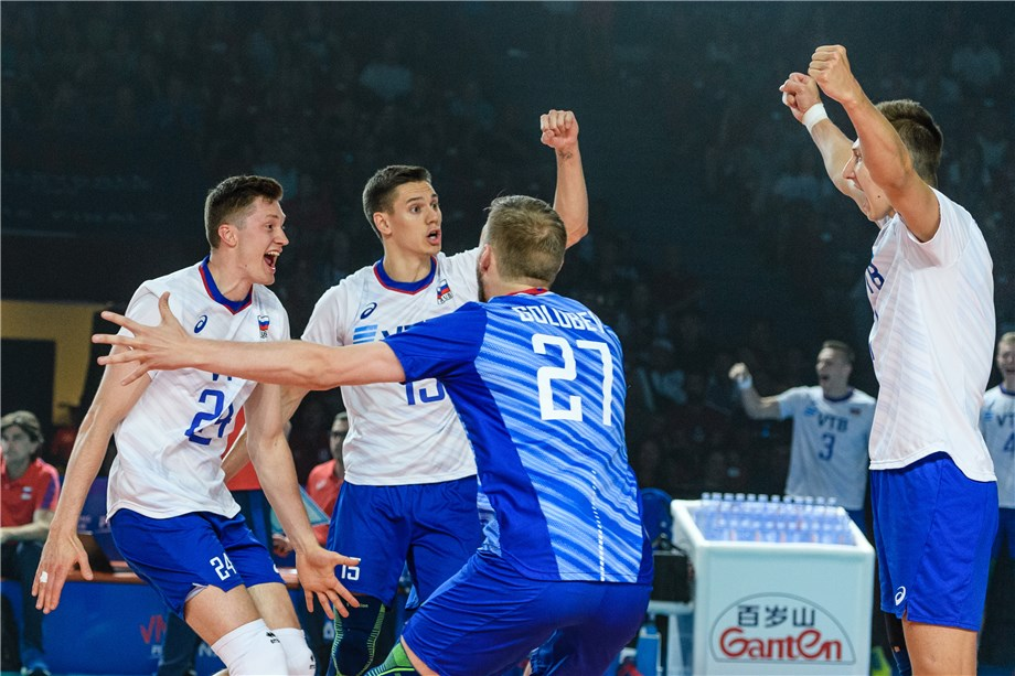 RUSSIA POWER PAST USA TO WIN SECOND VNL TITLE
