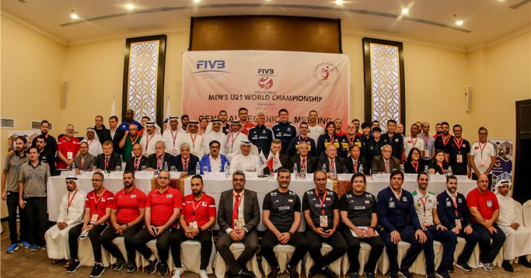 TEAMS READY FOR TOUGH CHALLENGE IN MEN'S U21 WORLD CHAMPIONSHIP