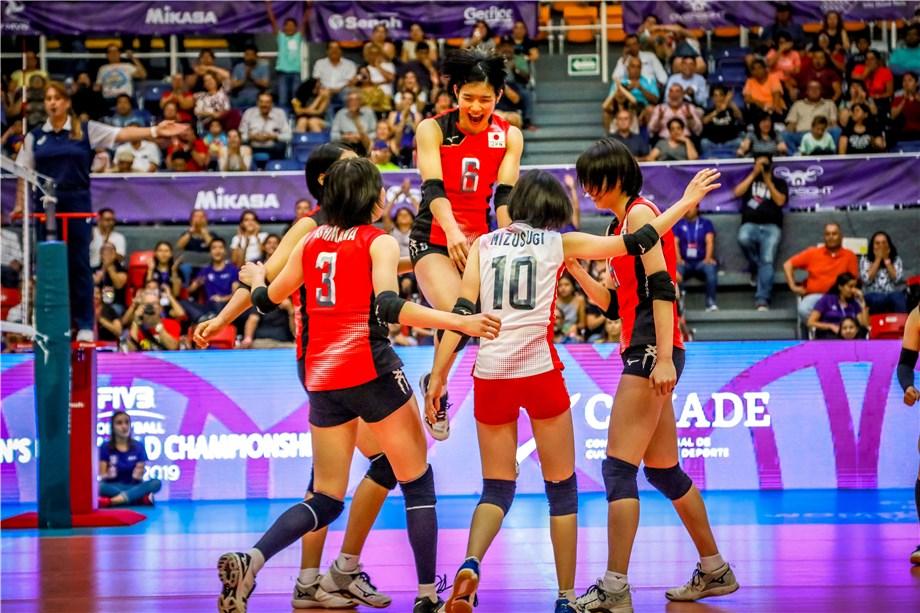 JAPAN RETAIN UNDEFEATED MARK AT WU20 WORLD CHAMPIONSHIP