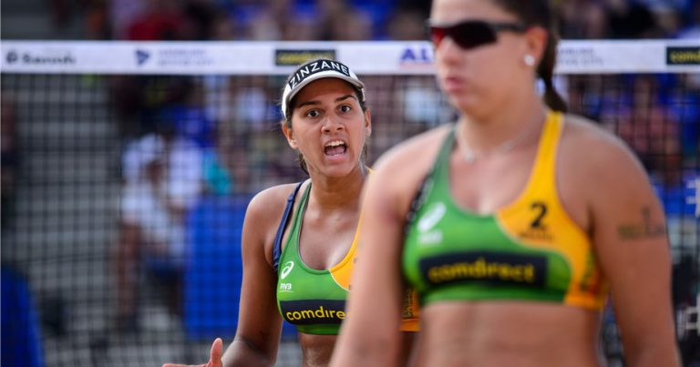 EIGHT POOLS TO BE DECIDED MONDAY AT BEACH VOLLEYBALL WORLD CHAMPIONSHIPS