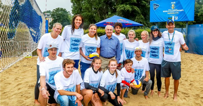 WORLD CHAMPIONSHIPS INSPIRE BEACH VOLLEYBALL PLAYES TO PROTECT THE OCEANS
