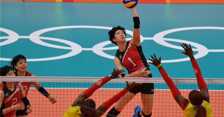 排球准备在2020年东京奥林匹克运动会#1YEARTOGO