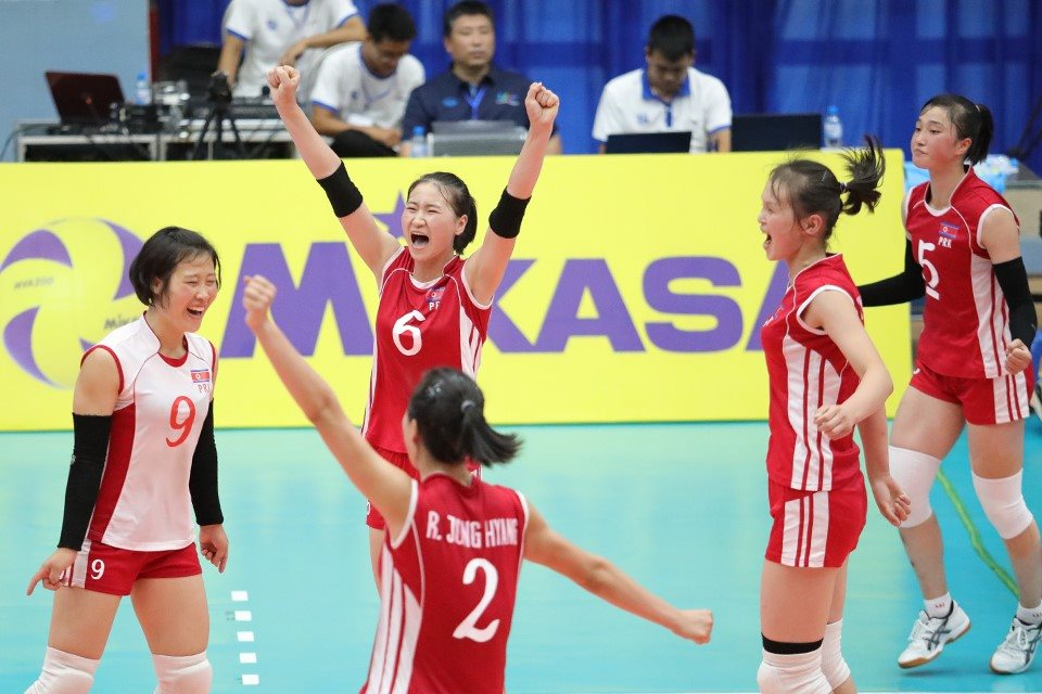 SON HYANG MI'S 38 GUIDES CLASSY DPR KOREA TO COMEBACK 3-1 VICTORY AGAINST THAILAND