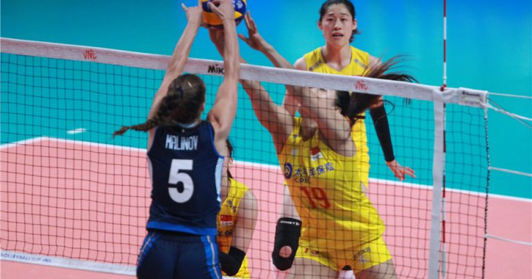 LIU XIAOTONG AND LIU YANHAN TEAM UP AS CHINA MARCH INTO 2019 VNL SEMIS
