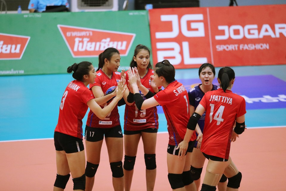 THAILAND THROUGH TO SEMI-FINALS AFTER 3-0 WIN AGAINST CHINESE TAIPEI