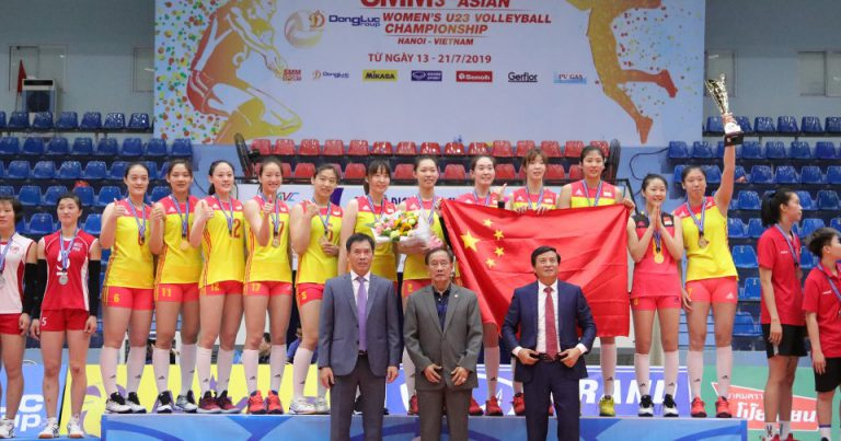 CHINA RECLAIM ASIAN WOMEN'S U23 TITLE WITH REMARKABLE UNBEATEN RECORD