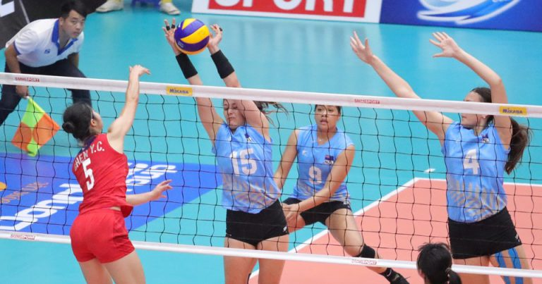 CHINESE TAIPEI OUTCLASS NEW ZEALAND IN COMFORTABLE STRAIGHT SETS