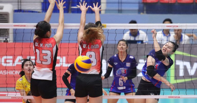 THAILAND FACE NO ISSUES IN SHUTTING OUT HONG KONG CHINA IN STRAIGHT SETS