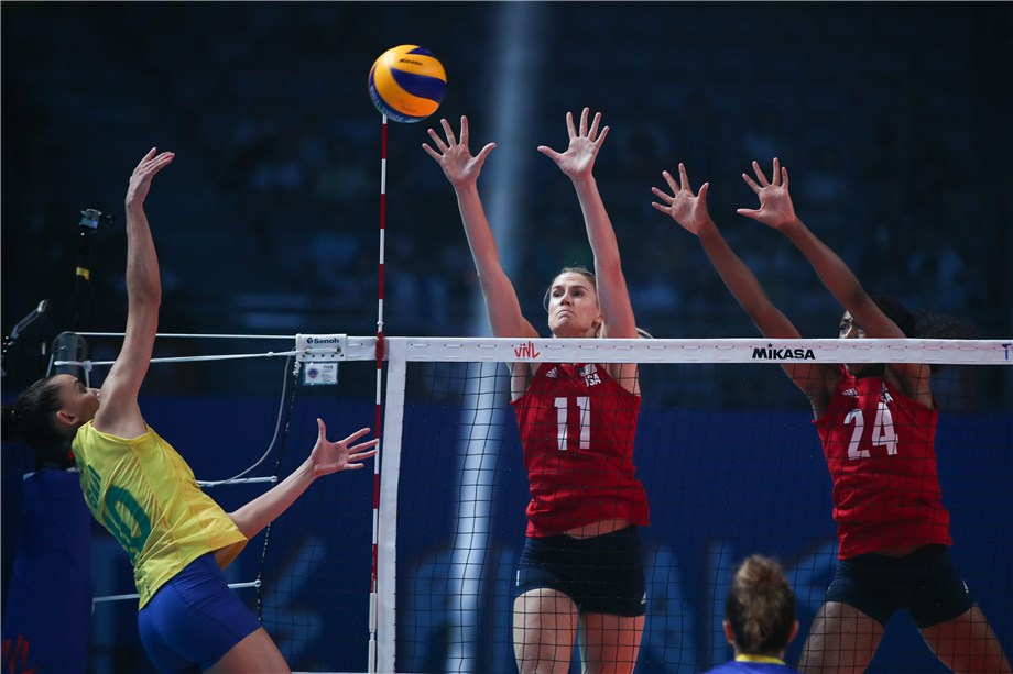 DREWS WITH 33 LEADS USA COMEBACK FOR VNL GOLD