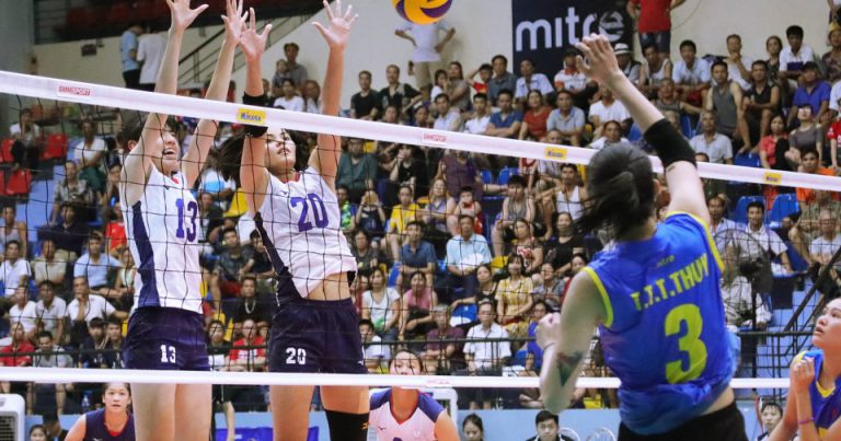TRAN THI THANH THUY'S 26 LIFTS VIETNAM'S COMEBACK 3-1 VICTORY AGAINST CHINESE TAIPEI