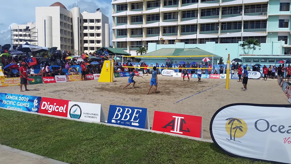 FIRST TWO DAYS OF PACIFIC GAMES BV COMPETITION COMPLETED – TWO VERY DIFFERENT DAYS OF WEATHER