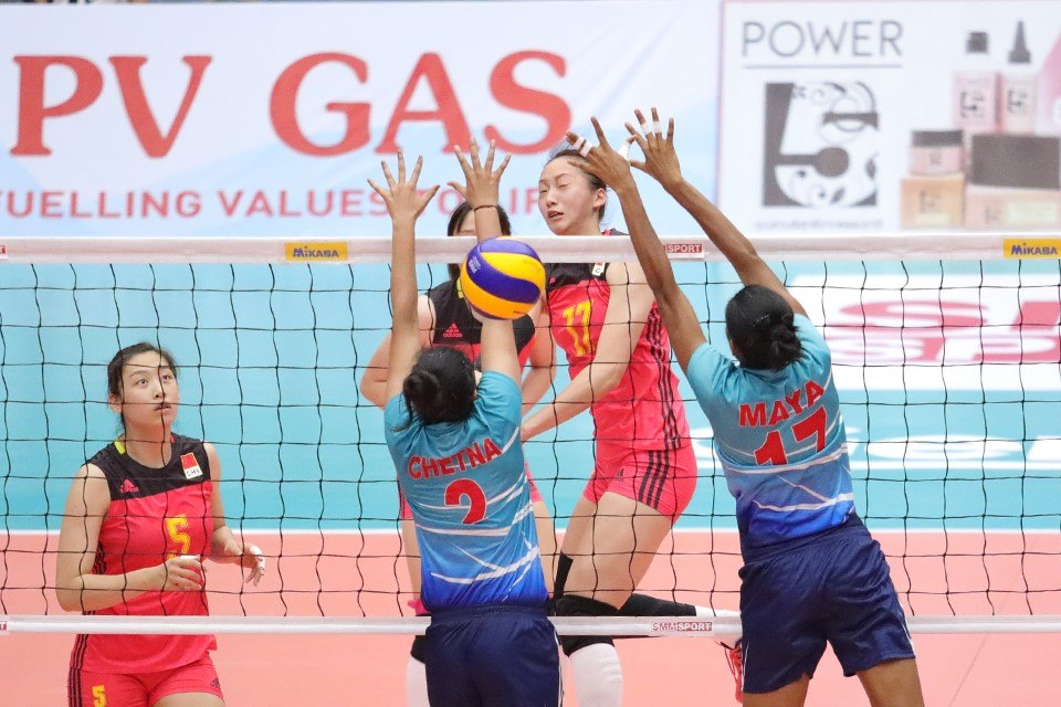 STRONG TEAMS ENJOY A FIELD DAY WITH STRAIGHT-SET WINS AT ASIAN WOMEN'S U23 CHAMPIONSHIP