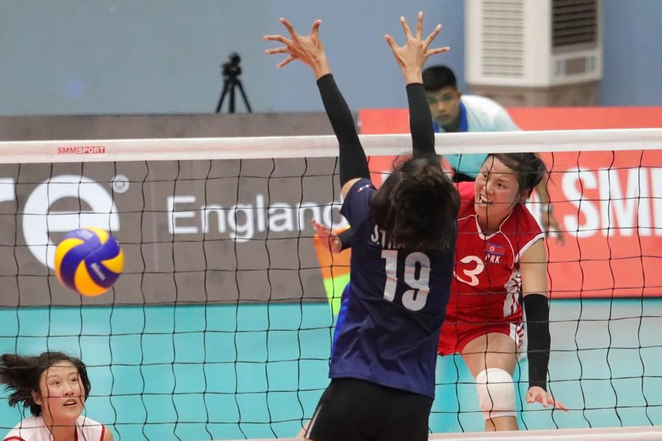DPR KOREA PULL OFF SHOCK 3-1 WIN OVER THAILAND ON DAY 1 OF ASIAN WOMEN'S U23 CHAMPIONSHIP IN HANOI