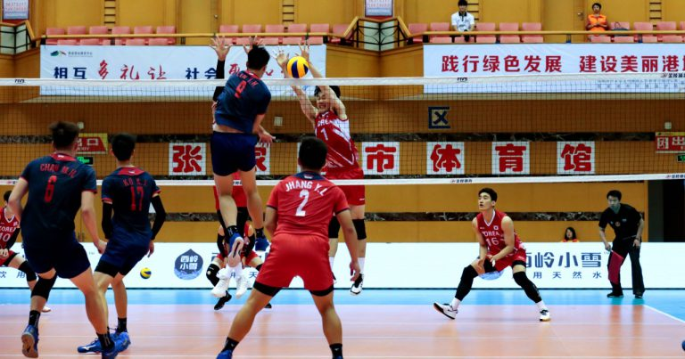 CHINA AND CHINESE TAIPEI REMAIN UNBEATEN AT AVC EASTERN ZONE MEN'S CHAMPIONSHIP