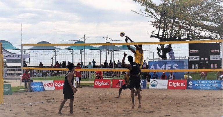 PACIFIC GAMES BEACH VOLLEYBALL QUARTER-FINALS CONFIRMED