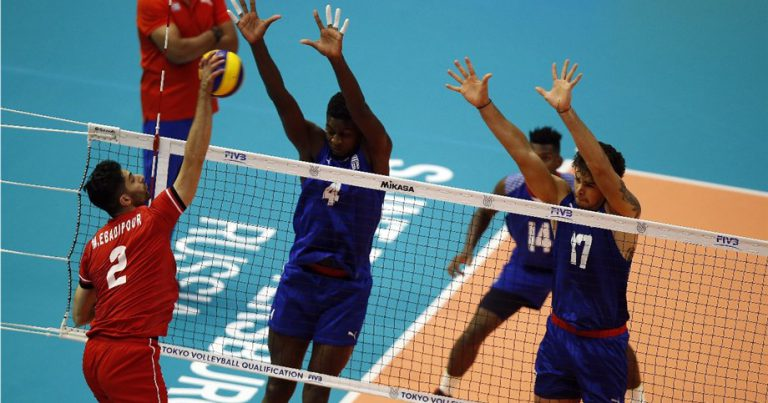 IRAN START POOL E WITH FIVE-SET VICTORY OVER CUBA