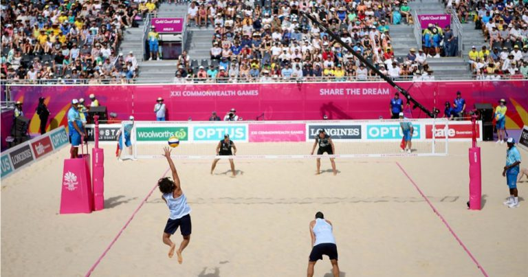 BEACH VOLLEYBALL CONFIRMED FOR BIRMINGHAM 2022 COMMONWEALTH GAMES