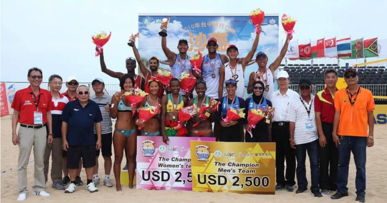 INDONESIA AND VANUATU SHARE HONOURS AT AVC BEACH VOLLEYBALL TOUR PENGHU OPEN