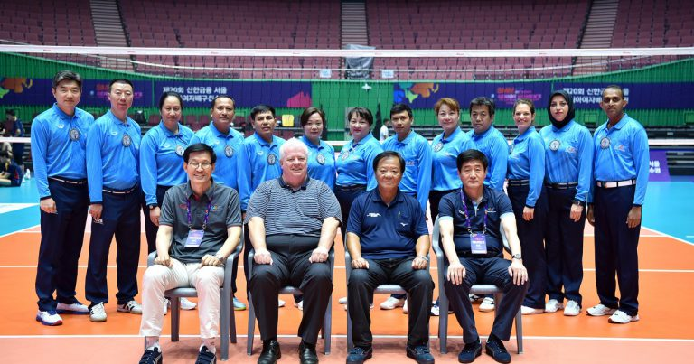 REFEREES NAMED TO OFFICIATE AT 20TH ASIAN SENIOR WOMEN'S CHAMPIONSHIP IN SEOUL