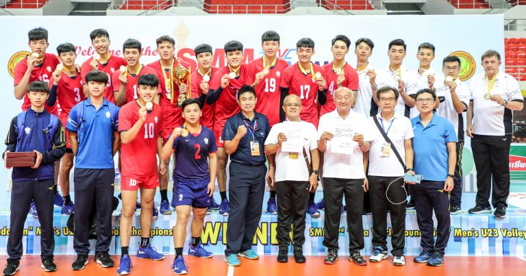 CHINESE TAIPEI ON CLOUD NINE TO CAPTURE HISTORIC GOLD MEDAL AT ASIAN MEN'S U23 CHAMPIONSHIP