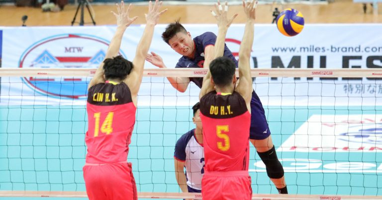CHANG YU-SHENG INSTRUMENTAL IN LIFTING CHINESE TAIPEI'S 3-0 VICTORY OVER CHINA