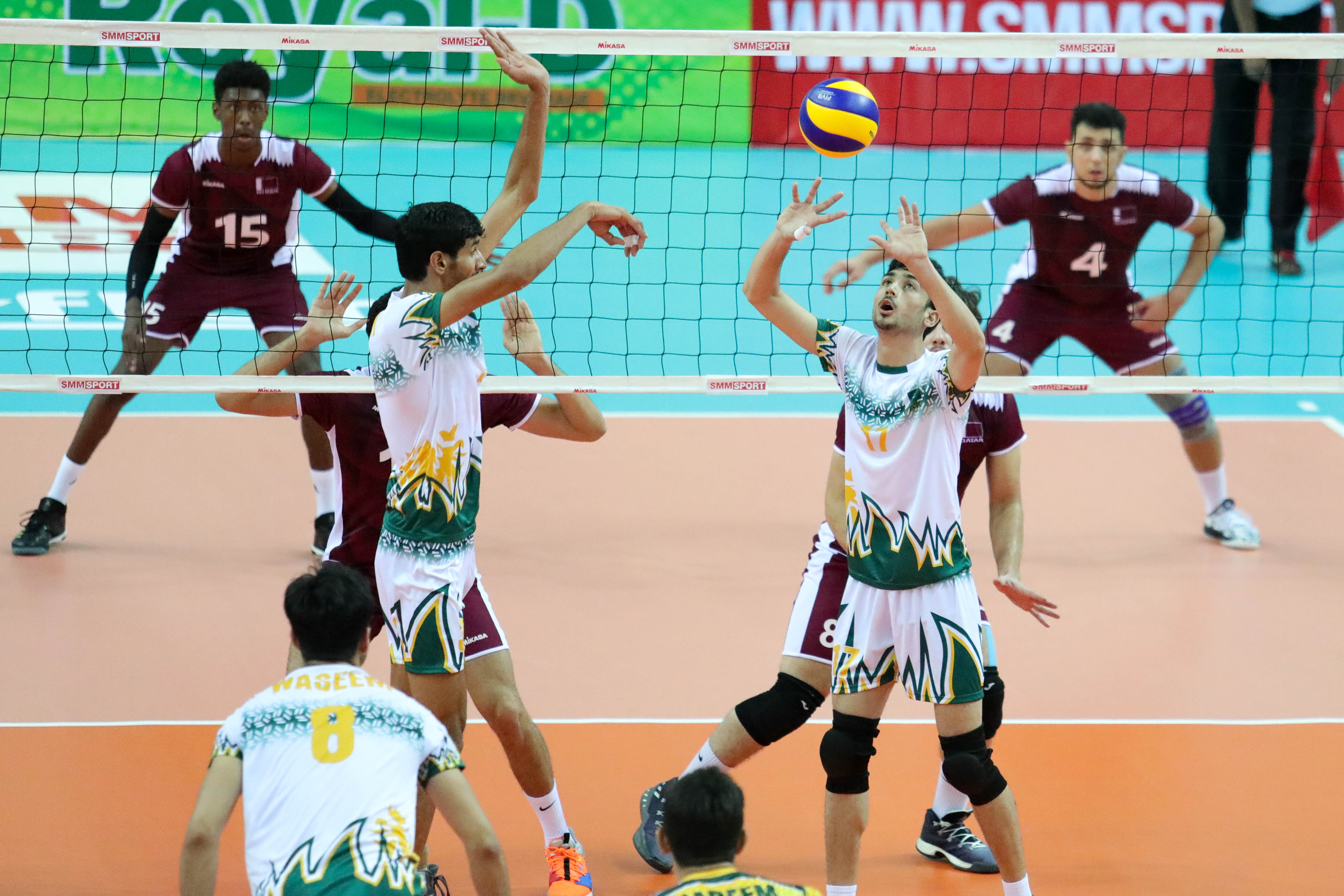 PAKISTAN PULL OFF CONFIDENT 3-0 VICTORY AGAINST QATAR