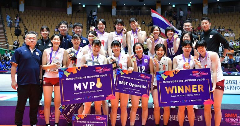 YOUNG JAPAN STUN THAILAND IN THRILLING FINAL SHOWDOWN TO REIGN SUPREME OVER 20TH ASIAN SR WOMEN'S CHAMPIONSHIP
