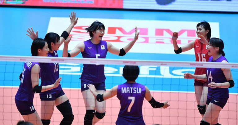 JAPAN CRUISE TO 3-0 VICTORY OVER AUSTRALIA AND ROUND OF TOP 8