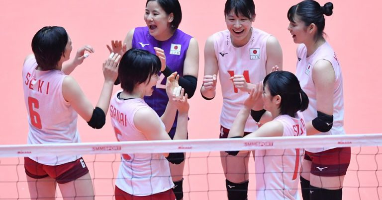 JAPAN CLAIM SECOND WIN AFTER OVERPOWERING KAZAKHSTAN IN STRAIGHT SETS